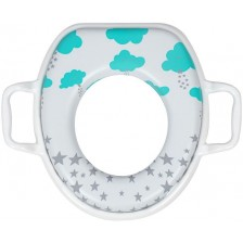 Мек адаптор за тоалетна чиния Sevi Baby - Облачета -1