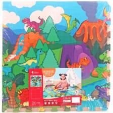 Мек пъзел Sun Ta Toys - Светът на динозаврите 4+8 части -1
