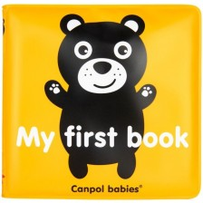 Мека гумена книжка Canpol Babies - със звуци -1
