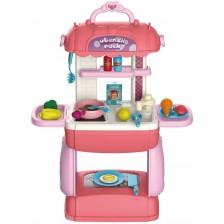 Мини детска кухня Bowa, в чанта 3 в 1 -1