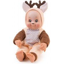 Кукла раздаваща целувки Smoby MiniKiss Animal - Еленче, 30 cm -1