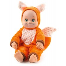 Кукла раздаваща целувки Smoby MiniKiss Animal - Лисица, 30 cm -1