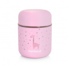 Термос за храна Miniland - Розов, 280 ml -1