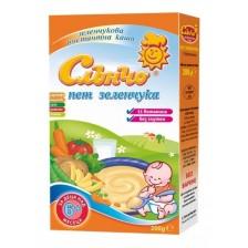 Млечна каша Слънчо - Пет зеленчука, 200 g -1