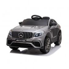 Акумулаторен джип Moni - Mercedes GLC 63 S AMG, сребрист металик -1