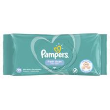 Мокри кърпички Pampers - Fresh Clean, 52 броя -1
