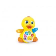 Мoni Бебешка музикална играчка Жълтото пате -1