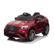 Акумулаторен джип Moni - Mercedes GLC 63 S AMG, червен металик -1