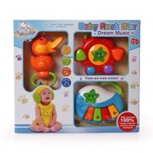 Бебешки музикален комплект Moni - Baby rock star -1