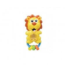 Детска играчка Moni - Дрънкалка, лъвче -1