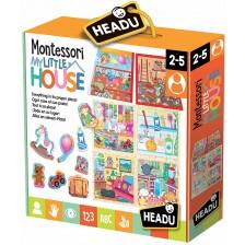 Комплект Headu Montessori - Моята малка къща -1