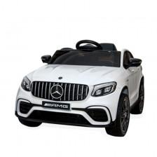 Акумулаторен джип Moni - Mercedes GLC 63 S AMG, бял -1
