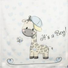 Муселинова пелена Sevi Baby - 90 x 90 cm, жираф -1