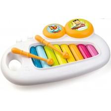 Музикална играчка Smoby Cotoons - Ксилофон, с 8 тона -1