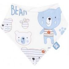 Муселинов лигавник Kikkaboo - Bear Blue -1