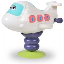 Музикална играчка Moni - Светещ самолет K999-139B -1