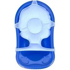 Мултифункционална подложка за къпане Sevi Baby - Синя -1