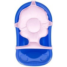 Мултифункционална подложка за къпане Sevi Baby - Розова -1