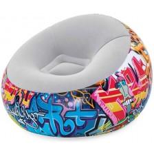 Надуваемо кресло топка Bestway - Graffiti  -1