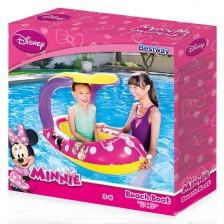 Надуваема лодка Bestway - Minnie Mouse, със сенник -1