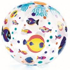 Djeco Надуваема Топка Fishes -1