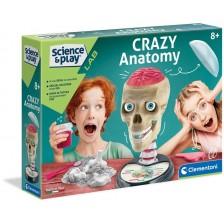 Научен комплект Clementoni Science&Play - Забавна анатомия -1