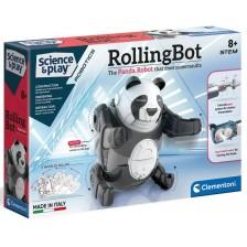 Научен комплект Clementoni Science & Play - Rolling Bot, панда -1