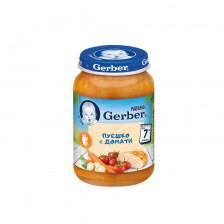 Пюре от пуешко с домати Nestlé GERBER - 7+ месецa, 190 gr -1