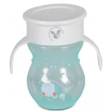 Неразливаща чаша Cangaroo - Magic Cup, 270 ml, тюркоаз -1