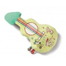 Бебешка музикална играчка My First Nici - Моята първа китара от плюш -1