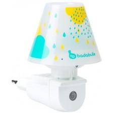 Нощна лампа Badabulle - Blue drops -1