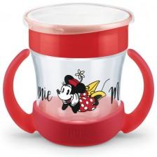 Чаша с дръжки NUK Evolution - Мини Маус, 160 ml -1