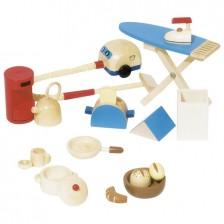 Обзавеждане за куклена къща Goki - Аксесоари за кухня -1