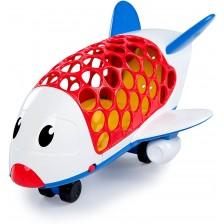 Детска играчка Oball Go Grippers - Самолетче -1