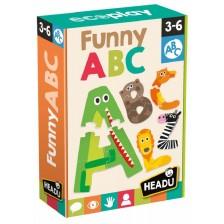 Образователна игра Headu Montessori - Забавна азбука (английска) -1