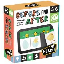 Образователна игра Headu Montessori - Преди и след -1