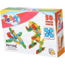 Образователен конструктор Matrax, 50 части -1