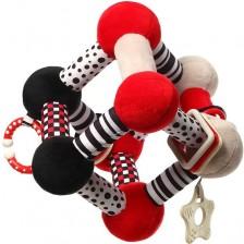 Образователна играчка Babyono - Tiny yoga cube, 782 -1