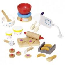 Обзавеждане за куклена къща Goki - Аксесоари за печене -1