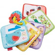 Образователна мека играчка Fisher Price - Карти с числа -1