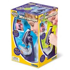 Образователна играчка Brainstorm - Oсветен микроскоп -1