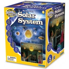 Образователна играчка Brainstorm - Светеща слънчева система с радиоконтрол -1