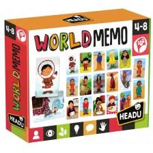 Образователни флаш карти Headu - Хора и култури от целия свят