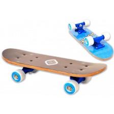 Детски мини скейтборд D'Arpeje - Син, 43 cm -1
