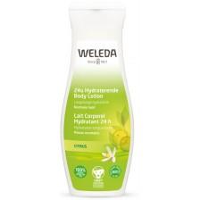 Освежаващ лосион за тяло с цитрус Weleda, 200 ml -1