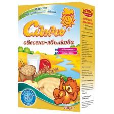 Овесена млечна каша Слънчо - Ябълка, 200 g -1
