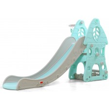 Пързалка Moni Garden - Zimbo, 172 cm, синя -1