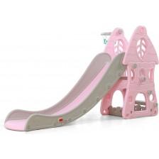 Пързалка Moni Garden - Zimbo, 172 cm, розова -1