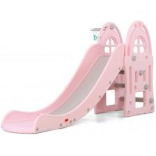 Пързалка Moni Garden - Alegra, 172 cm, розова -1