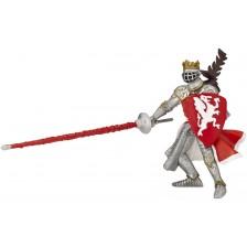 Фигурка Papo The Medieval Era – Рицар на Червения дракон -1